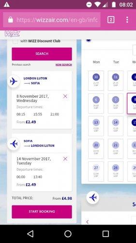 From Luton: November Flights to Bulgaria £4.98pp Return @ Wizzair