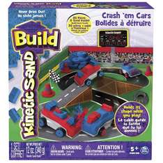 Lightening Deal - Kinetic Sand Crash Em Cars Playset £7.97 Sold by ABCZoneLtd and Fulfilled by Amazon. - lightning deal