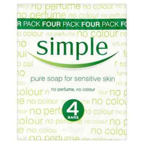 Simple Soap 4 Pack £1.25 @ Tesco instore