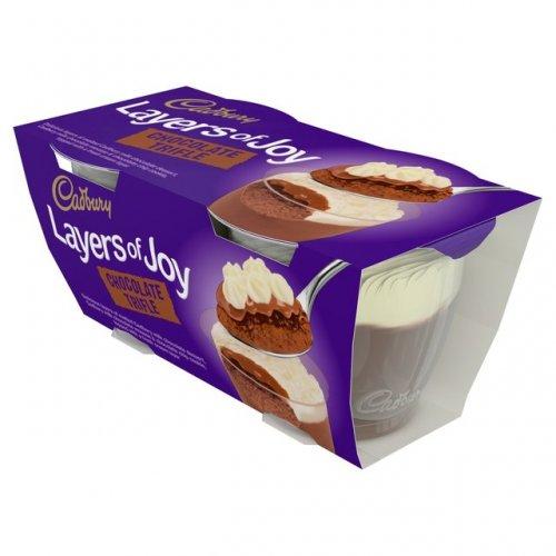 Cadbury Layers of Joy Chocolate Trifle Dessert (2 x 90g) was £1.00 now (BOGOF) @ Ocado