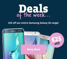 £25 off all Samsung S6 (used-refurb) @ Music magpie