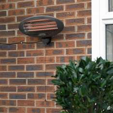 Limitless Weatherproof 2000W Wall Mounted Patio Heater £28.36 Dispatched from and sold by a2z-discounts / Amazon