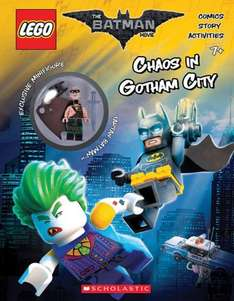 The Lego Batman Movie Chaos in Gotham City Activity Book £2 @ Smyths (In-store only)