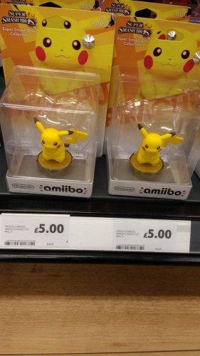 Pikachu Amiibo £5 @ Tesco Ilkeston