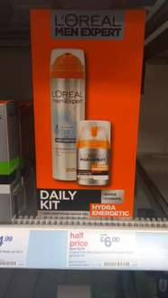 L'Oréal Men's Daily Kit  £6 (Half Price) @ Boots - Moisturiser alone is £5.29 in sale!
