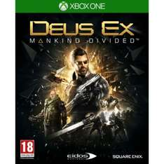 Deus Ex Mankind Divided (Xbox One/PS4) @ Shop4World - £6.50