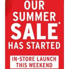 THE BODY SHOP summer SALE is now on IN-STORE! (Starts online Monday 19th 9am)