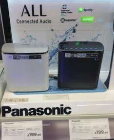 PANASONIC WIRELESS/BLUETOOTH SPEAKER - £199 @ CURRYS BIRSTALL