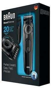 Braun BT3020 Beard & Hair Trimmer only £20 @Tesco instore