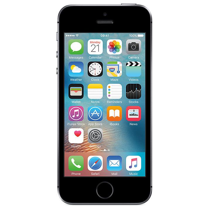 Apple iPhone SE 32GB - Sim Free @ John Lewis - £339