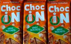 Choc in chocolate bar (Various Flavours) 3 x 93g Bars £1 @ Heron