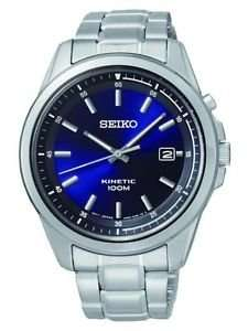 Seiko Kinetic Men's Blue Face Watch £64.99 delivered @ Argos Ebay