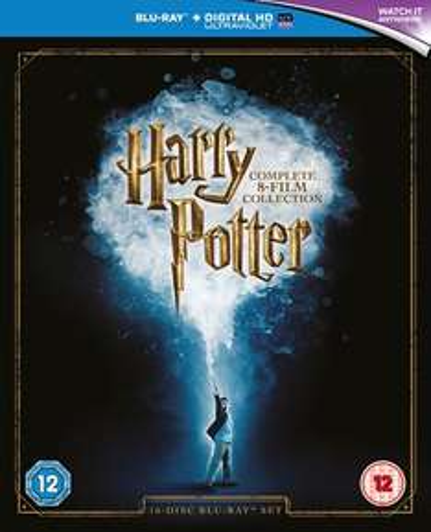 Harry Potter (Blu Ray) 16 Disc - Box Set 2016 Edition - Includes Digital Download £23.99 @ Zavvi