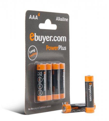 AAA batteries x4 £0.59 + £3.58 P+P or £1.98 C+C @ ebuyer