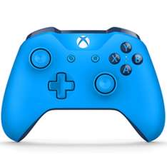 Xbox One Blue Wireless Controller plus Gears of War 4 and Halo 5: Guardians £54.99 @ Game