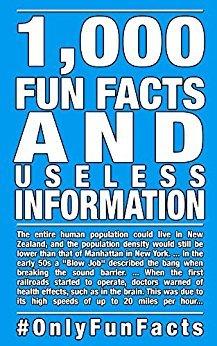 save 100% on 1,000 fun facts eBook @ Amazon