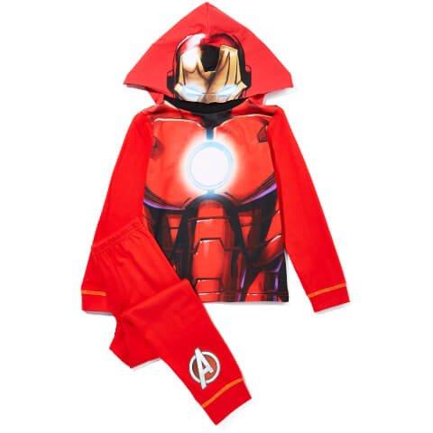 Marvel / DC / Star Wars Boy's Novelty Hood Pyjamas £5.99 / £6.99 @ Zavvi [Iron Man / Batman / Darth Vader / Stormtrooper /Captain America / Spider-Man / Superman] + Extra 10% off 2 or more