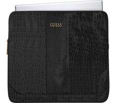 "GUESS 11"" Laptop Sleeve - Crocodile Black - Currys -£9.97"
