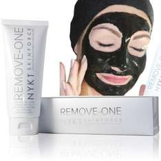 NYK1 Remove One Black Face Mask Exfoliator for just £15 instead of £25 using exclusive code Sold by NYK1 Secrets and Fulfilled by Amazon.