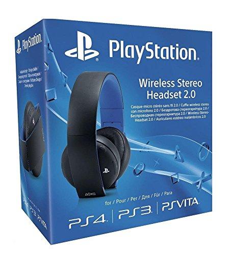 Sony PlayStation Wireless Stereo Headset 2.0 - Black (PS4/PS3/PS Vita) £44.99 @ Amazon