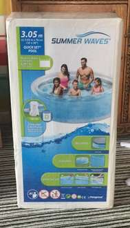 Summer waves 10 foot quickset pool with pump and cover £39.99 @ Costco