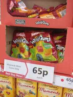 Maynards Wine Gums 165g 65p Cool Trader