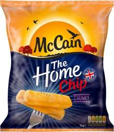 McCain Home Chips Chunky Cut (1Kg) was £2.60 now £1.30 @ Ocado