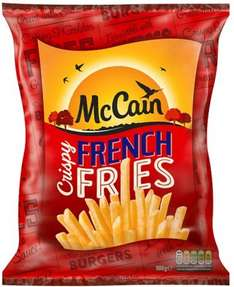 McCain Crispy French Fries (750g) was £1.50 now £1.00 @ Iceland