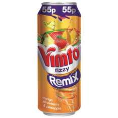 Vimto Fizzy Remix Can 330ml was 55p now 29p @ B&M