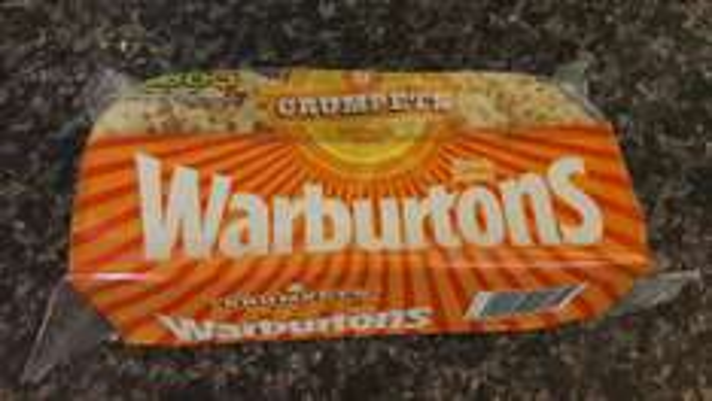 Warburtons crumpets £0.65 at Sainsbury's local & online