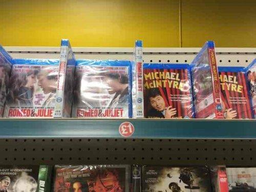 blu ray movies £1 instore @ Poundland (Denton)