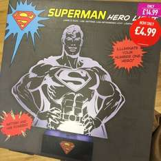 Superman Hero Light £4.99 at GAME (In-store)