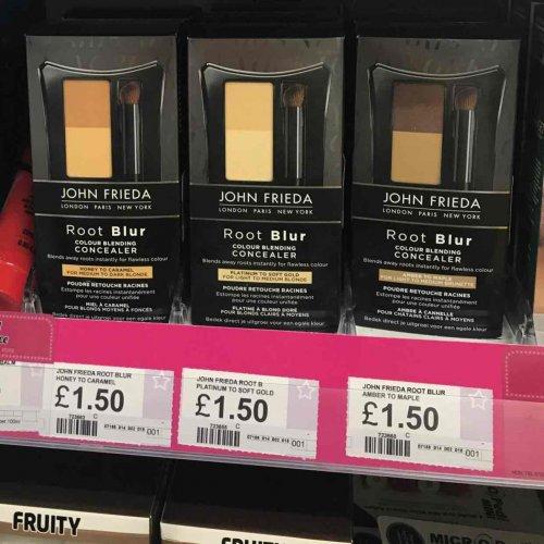 John Frieda root colour blur £1.50 normally £14.99 at superdrug instore (Whiteley)