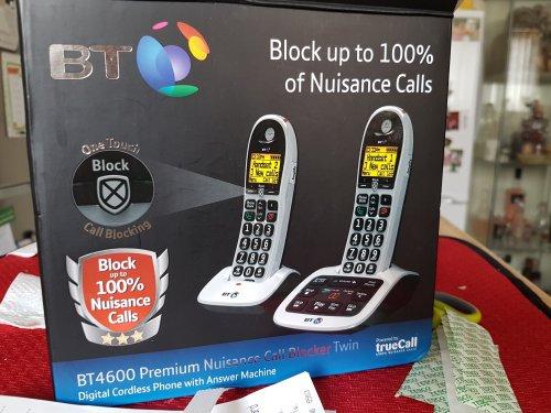 BT4600 Premium Twin Handset - £16 instore @ ASDA (Bangor)