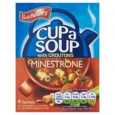 Batchelors Cup A Soup,2 for £1 @ Poundland