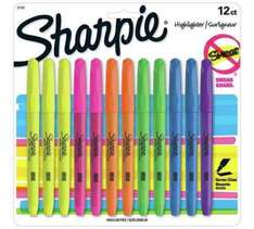 Sharpie 12 Pack of Assorted Highlighters @ Argos - £4.99