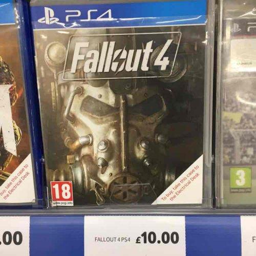 Fallout 4 PS4 - £10 @ Tesco