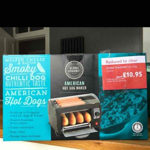 American hot dog maker £10.95 @ John Lewis (Glasgow)