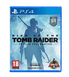 Rise of the Tomb Raider 20 Year Celebration PS4 - £21.85 @ Shopto