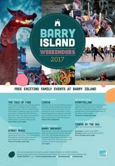 Free Events Including  Free Cinema By The Sea (Beauty & the Beast (2017) & Jurassic Park (1993)  - Barry Island Weekenders 2017 (22nd July -  27th August 2017)