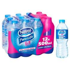 Nestle pure water 12 small bottles for £2 @ Morrisons