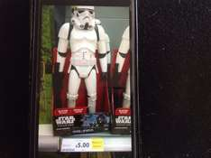 "Star Wars 18"" Stormtrooper @ Tesco Millbrook Southampton. Reduced from £19.99 to £14.24 down to £5."