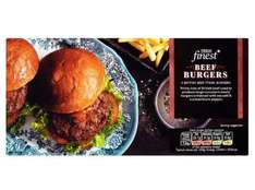 Tesco Finest 4 Beef Steak Quarter Pounders 454G - £1.50 (from tomorrow)
