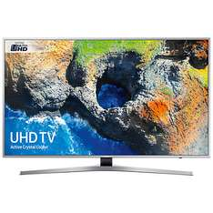 "Samsung UE55MU6400 Ultra HD Certified HDR 4K Smart TV, 55"" JL price match reducing from £899.99 to £799 and further £100 cashback reward"