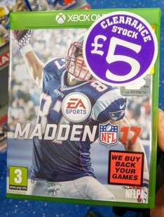 [Xbox One] Madden 17 - £5 (Smyths in-store)