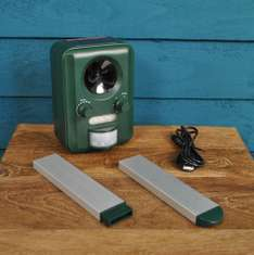 Electronic solar cat and rodent repeller £13.99 garden-selections / Ebay