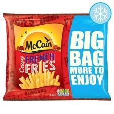 McCain Crispy French Fries 1.4kg Tesco instore scanning at 75p