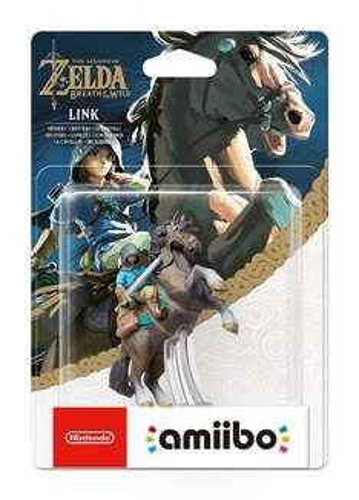 Link (Rider) amiibo - The Legend OF Zelda: Breath of the Wild Collection £12.99 (Prime)  - amazon.co.uk