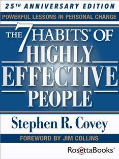 7 Habits of Highly Effective People 99p on Kindle