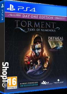 Torment Tides of Numenera Day 1 Edition (PS4/Xbox one) £12.85 Free Delivery @ Shopto